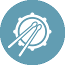 Drummer icon